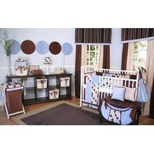 Minky Dot 4 Piece Crib Bedding Set