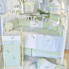 One Little Froggie 15 Piece Crib Bedding Set