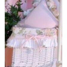 Flower Medley Wicker Basket