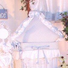 Prince Blue Decorator Cotton Throw Pillow