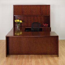 Sonoma U-Shape Executive Desk with Hutch