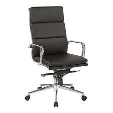 Adjustable High-Back Executive Chair
