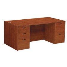 Napa Double Pedestal Executive Desk