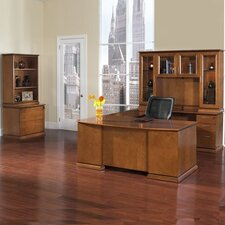 Mendocino U-Shape 3-Piece Desk Office Suite