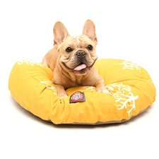 Coral Round Pet Bed Pillow