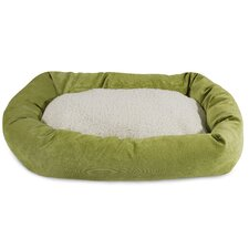 Villa Sherpa Bagel Bed