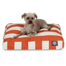 Vertical Stripe Pillow Dog Bed