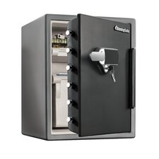 Water Resistant Dual Combination Fire Safe 2.05 CuFt