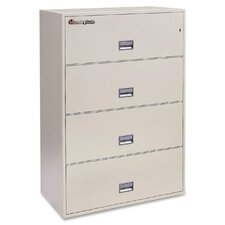 4-Drawer  Fireproof File Safe