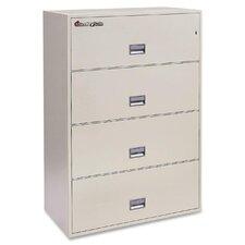 4-Drawer  Fireproof File Safe