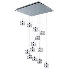 Disco 13 Light LED Cascade Pendant