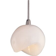 Opal White 1-Light RapidJack Pendant