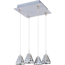 Geo 4-Light RapidJack Pendant and Canopy