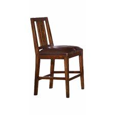"""Mesa 24"""" Bar Stool with Cushion (Set of 2)"""