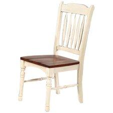 British Isles Slat Back Side Chair (Set of 2)