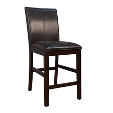 "Parsons 24"" Bar Stool with Cushion (Set of 2)"