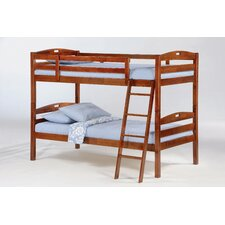 Zest Sesame Twin over Twin Bunk Customizable Bedroom Set
