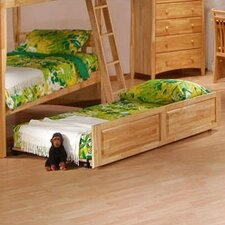 Spices Bedroom Twin / Twin Bunk Bed Trundle Face and Rails