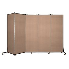5 Panel Light Duty Partition