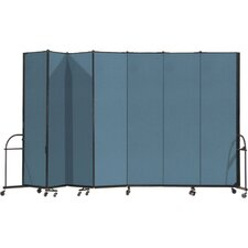 Heavy Duty Seven Panel Portable Room Divider