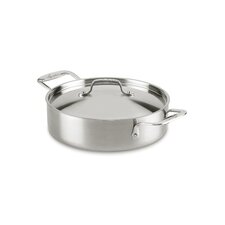 Axia 5-qt. Stainless Steel Round Casserole with Lid