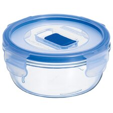Pure Box Active 1.7-Cup Round Storage Box with Lid (Set of 6)