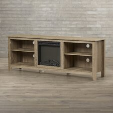 Angel TV Stand with Electric Fireplace