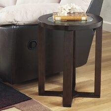 Machias End Table in Dark Brown