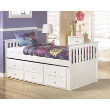 Lulu Kids Twin Panel Bed