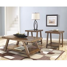 Byers 3 Piece Coffee Table Set