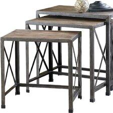 Chatham 3 Piece Nesting Table Set