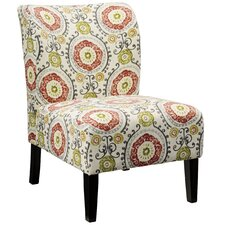 Honnally Floral Side Chair