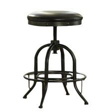 Shayneville Adjustable Height Swivel Bar Stool with Cushion (Set of 2)