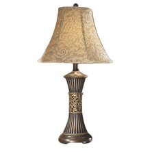 "Mariana 28.5"" H Table Lamp with Bell Shade"