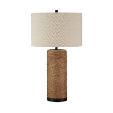 "Talbbart 29.5"" H Table Lamp with Drum Shade"