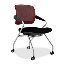 Valore Training Series Mid-Back Mesh Chairs (Set of 2)