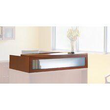 "Aberdeen Series 15.63"" H x 72"" W Reception Desk Hutch"