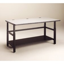 IT Furniture Adjustable Training Table with Base