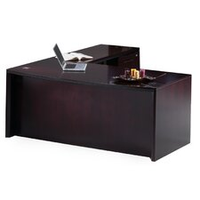 Corsica Series L-Shape Executive Desk