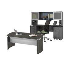 Medina Series Standard Desk Office Suite