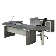 Medina 2-Piece Series Standard Desk Office Suite