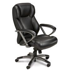 Series 300 High-Back Leather Executive Chair