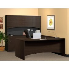 Brighton Series U-Shape Exec/Comp Desk with Hutch
