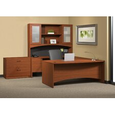 Brighton U-Shaped Desk Suite