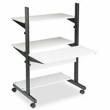 SOHO Adjustable Computer Table