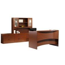 Brighton Series 3-Piece U-Shape Reception Desk Suite
