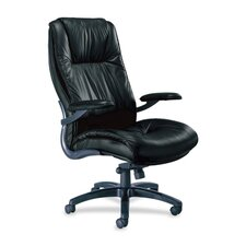 Series 100 High-Back Leather Executive Chair