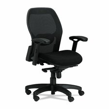 High-Back Mesh Conference Chair