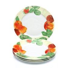 "Georgia's Bounty 12"" Dinner Plates (Set of 4)"