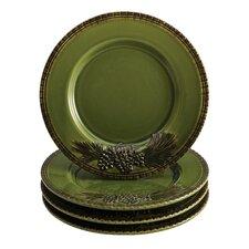 "Signature Southern Pine 8"" Salad Plate (Set of 4)"